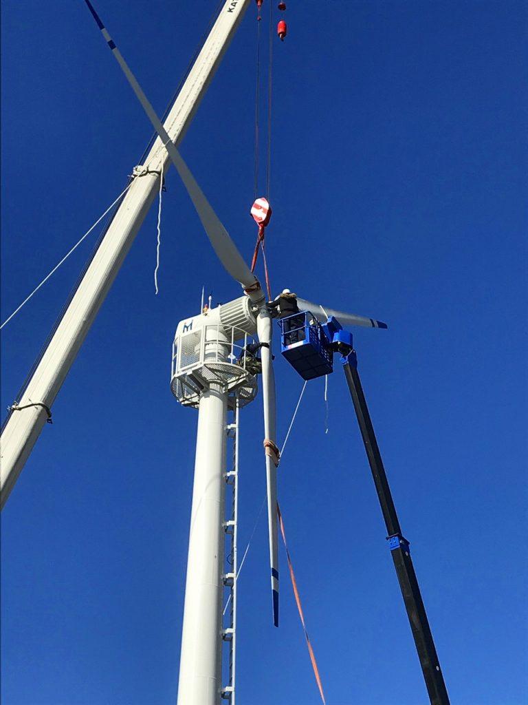 八峰町風力発電