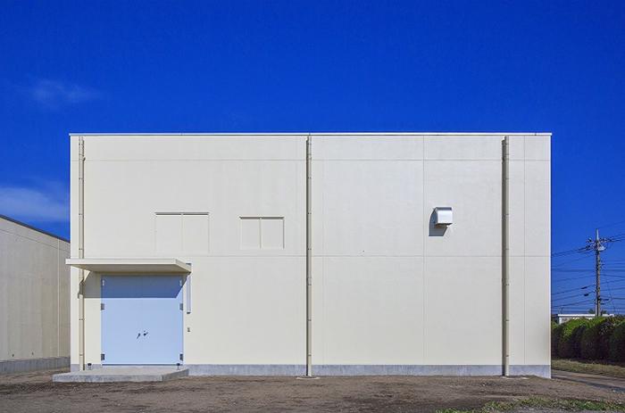 柿木浄水場発電機棟
