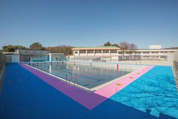 亀井小学校プール