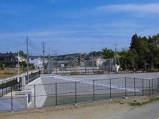今宿東土地区画整理2号調整池