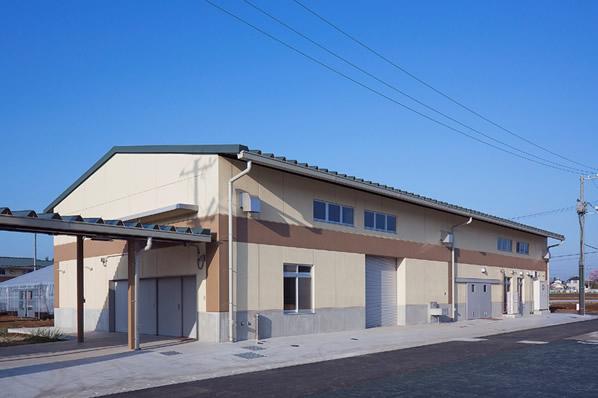 農業大学校実習棟(平成27年度県土づくり優秀建設工事施工表彰工事)